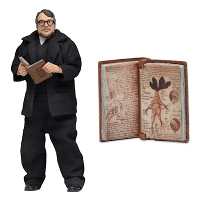"San Diego Comic-Con 2018 Exclusive Guillermo del Toro 8"" Clothed Action Figure by NECA"