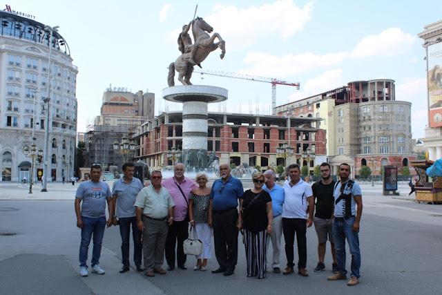 Οι Παμμανεδονικές Ενώσεις στην πόλη των Σκοπίων
