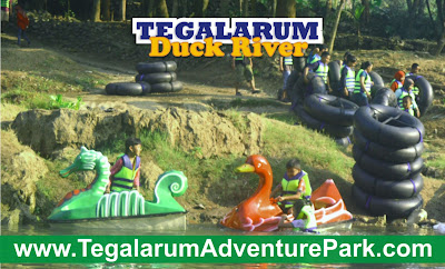 gambar wahana wisata keluarga di Jogja Tegalarum Adventure Park