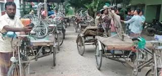 কালিয়া থানা পুলিশের অভিযানে ১৬ টি চোরাই ভ্যানসহ এক চোর আটক