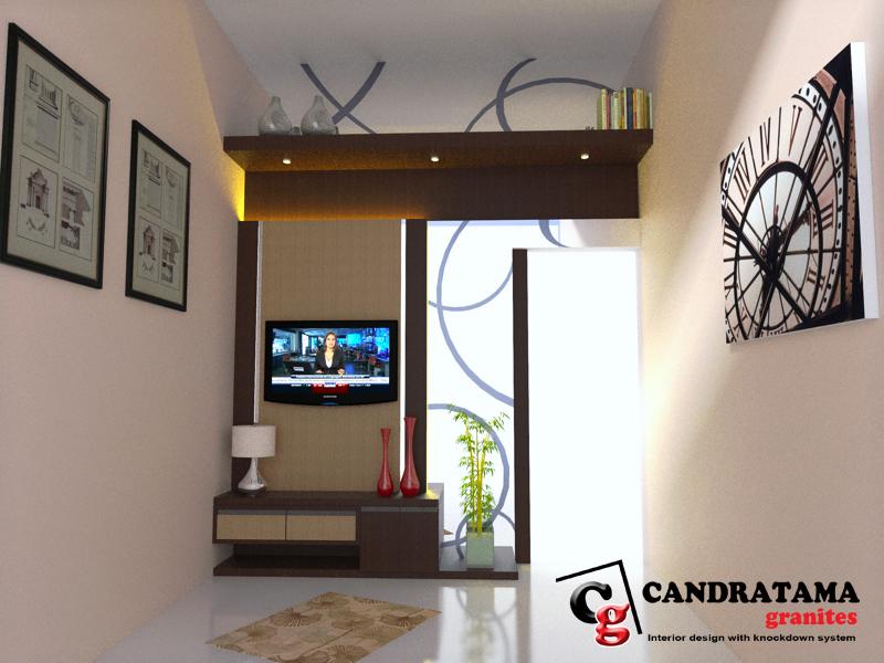 Backdrop Tv Furniture Kediri Jasa Interior Kediri