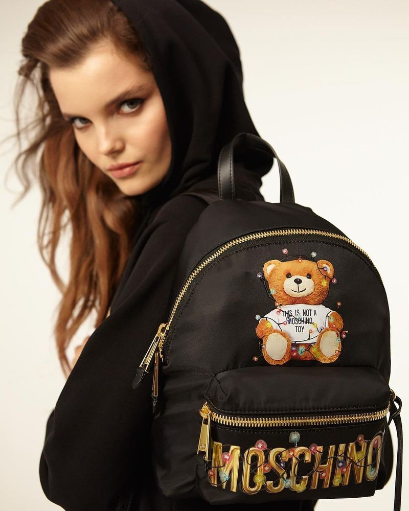 Moschino Teddy Holiday 2018 Campaign