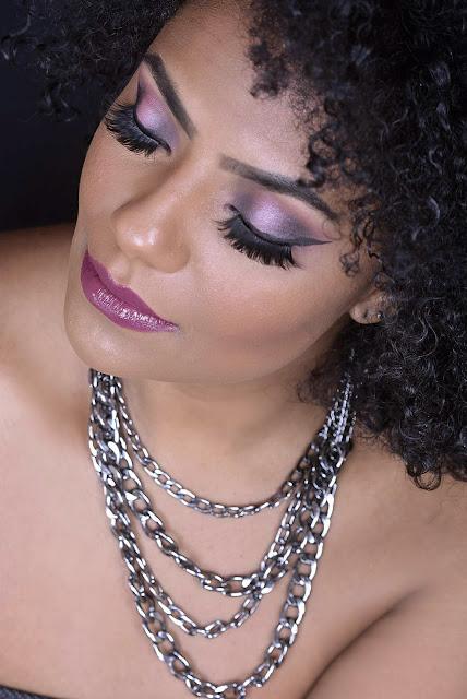Maquiagem Discreta - Pele Negra