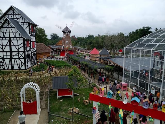 Asia Farm Wisata Baru di Pekanbaru Yang Hitz Untuk Berfoto Ala Eropa dan Jepang