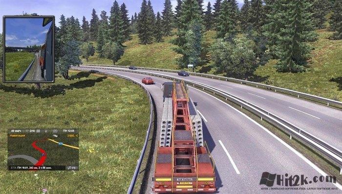 Euro Truck Simulator 2 Full ISO - Hit2k com