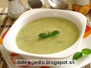 Krémová cuketová polievka - recept
