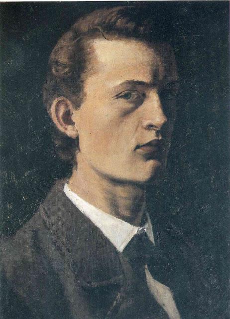 Эдвард Мунк - Автопортрет. 1882