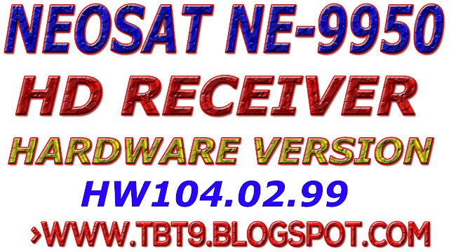 NEOSAT HD RECEIVER NE-9950 NEW SOFTWARE WITH NEW POWERVU KEY