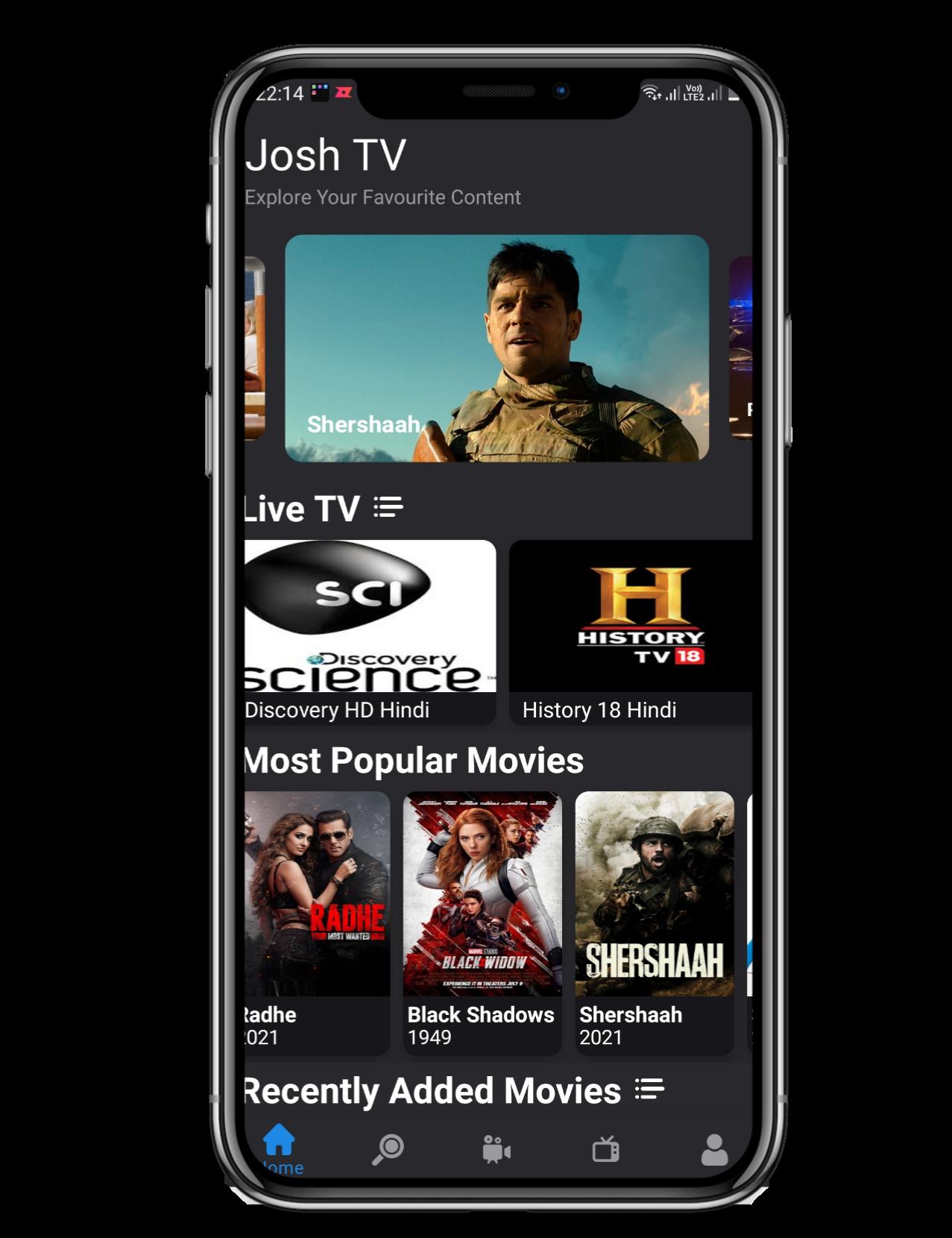 Josh TV App
