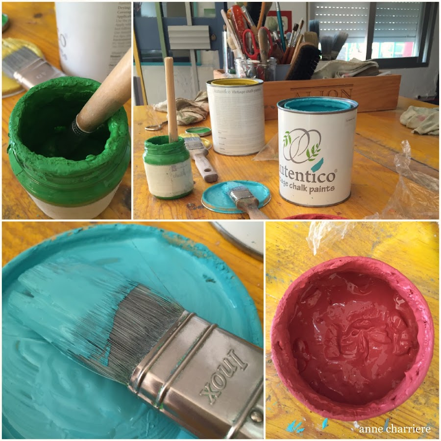 www.annecharriere.com, latelier danne, benahavis, marbella, taller pintura, chalk paint, autentico, la pajarita, craquelado,