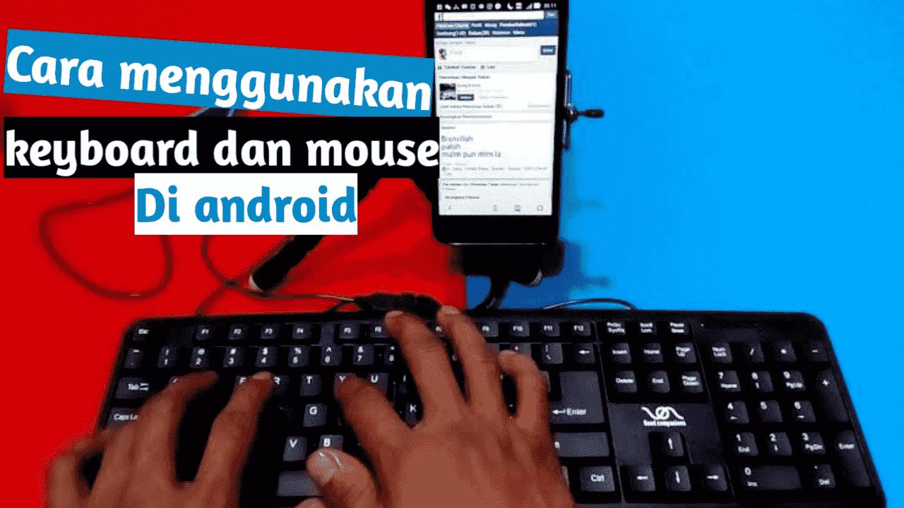 Cara pakai keyboard di hp
