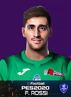 PES 2020 Faces Francesco Rossi by Sofyan Andri