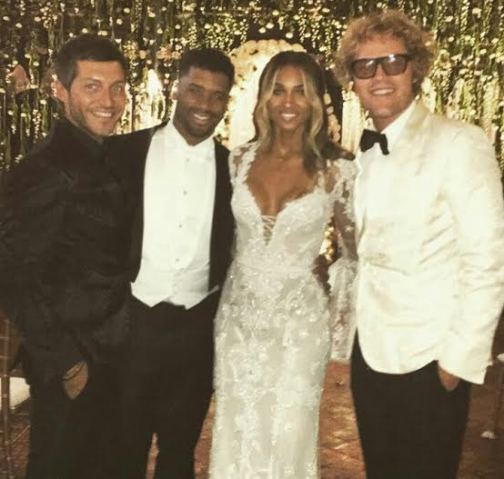 Russell Wilson Wedding: Ciara & Russell Wilson Pictured At Their Wedding Reception
