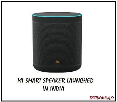 Mi Smart Speaker Launched in India
