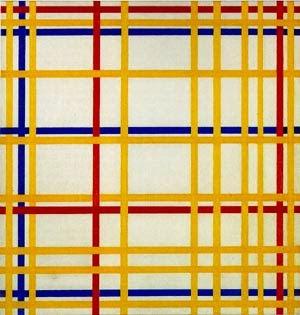 Cidade de New York - Piet Mondrian e Suas Pinturas | Criador do Neoplasticismo