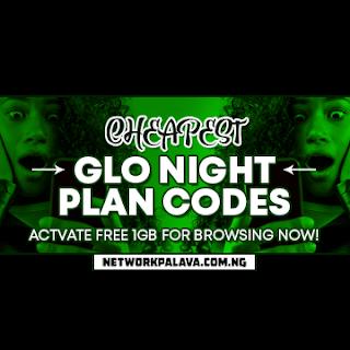 glo night plan code 1gb