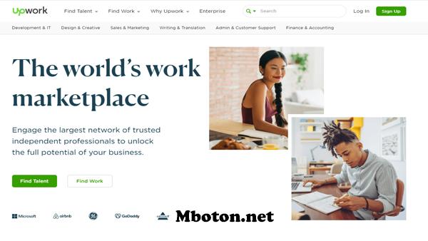 Upwork website freelancer job terbesar di dunia nasional, penggunanya sudah mencapai 11 juta lebih yang mendaftarkan kerja online upwork freelancer job