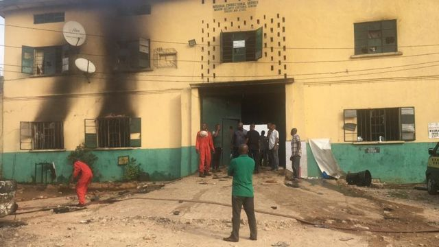 Imo jailbreak: Six of 1,844 escapees have returned voluntarily