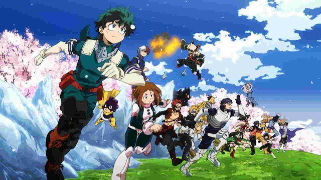 My Hero Academia Anime Season 4 Terdaftar Dengan 25 Episode
