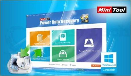 تحميل برنامج استرجاع ملفات الهارد مجانا minitool power data recovery free