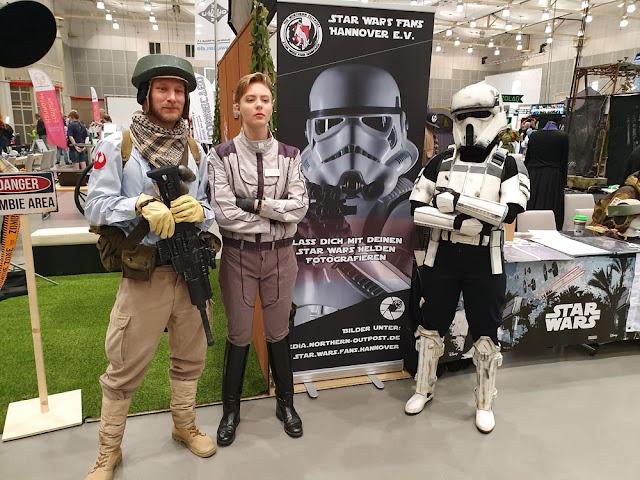 Star Wars Fans Hannover E. V. Stand auf der Maker Faire 2019