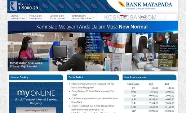 internet mobile banking mayapada