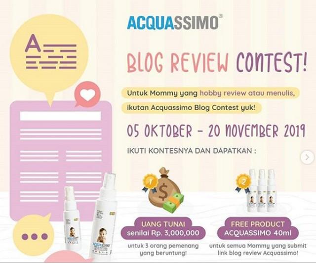 Lomba Blog Acquassimo