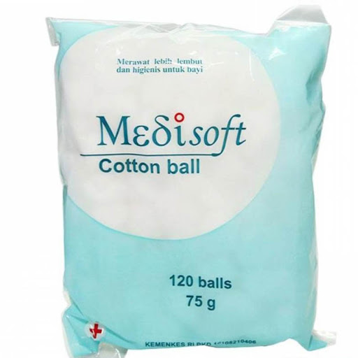 Medisoft Cotton Ball Kapas Bola isi 120 balls