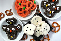 HALLOWEEN PRETZELS- EASY, FAST AND FUN!
