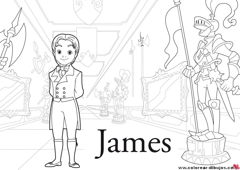 COLORING PAGES: La Princesita