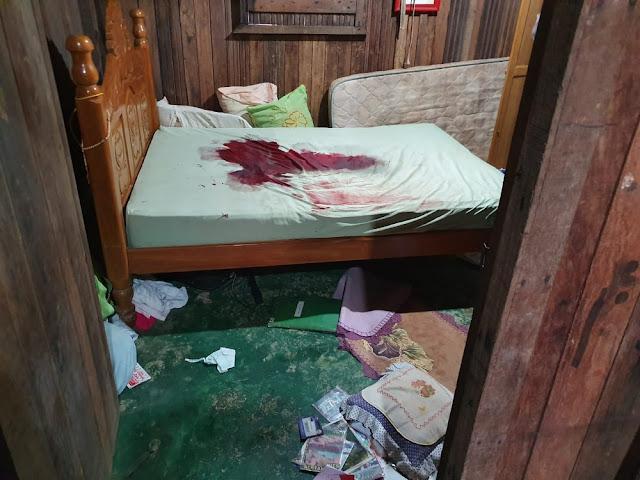 Mulher chega de velório e encontra marido morto com corte no pescoço
