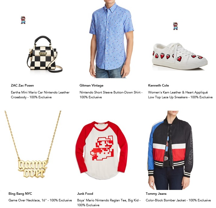 Fashion Nintendo At Bloomingdales Fashion Blog By Apparel Search