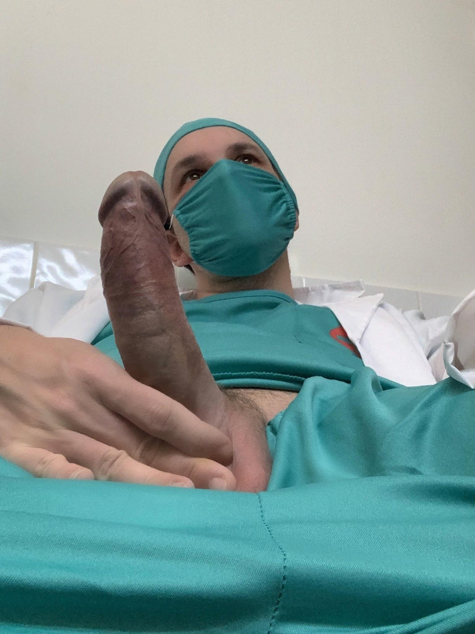 los penes de los enfermeros