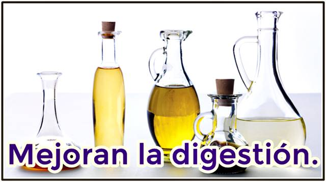Consumir vinagre solo o en las comidas ayuda a mejorar el proceso digestivo