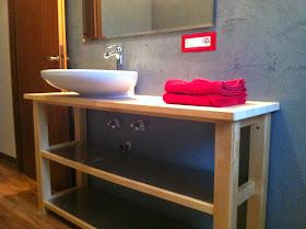 Le cose di bibbi coprire le piastrelle del bagno - Coprire piastrelle con resina ...