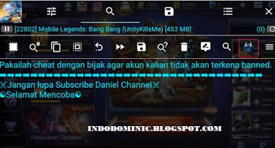 Script skin gratis mobile legends menggunakan gameguardian