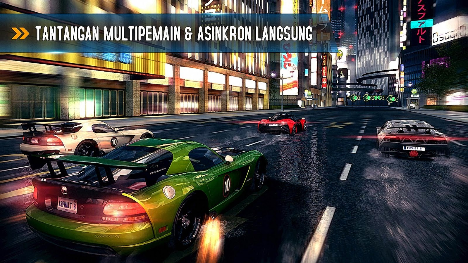 Asphalt 8 Airborne v1.8.0 MOD APK (Unlimited Money/Anti-Ban)