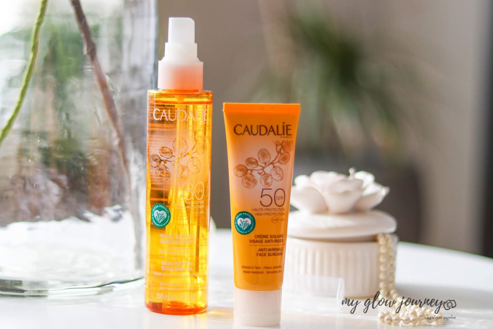 Caudalie Anti-wrinkle Face Suncare SPF50 | Review