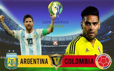 مشاهدة مباراة الأرجنتين وكولومبيا بث مباشر اليوم 16-6-2019 في كوبا امريكا 2019