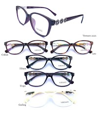 Kacamata Frame Versace (F2221) Plus Lensa Photocromic