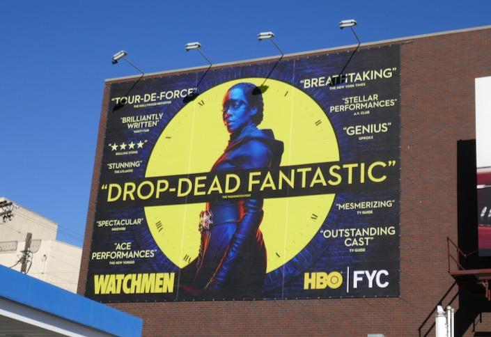 Watchmen season 1 Drop-dead fantastic FYC billboard