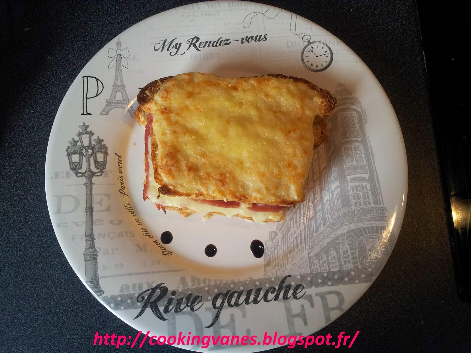 La cuisine de mimi croque monsieur maison au four - Recette croque monsieur au four ...