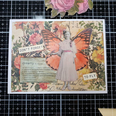 CraftyColonel Donna Nuce Tim Holtz Paper dolls and Layers.