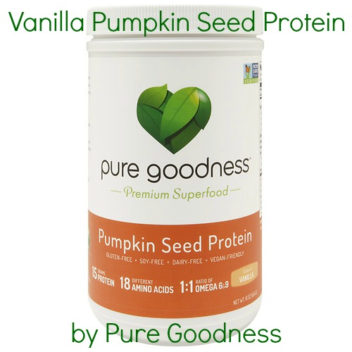 GlamRiver: Vanilla Pumpkin Seed Protein Powder by Pure Goodness