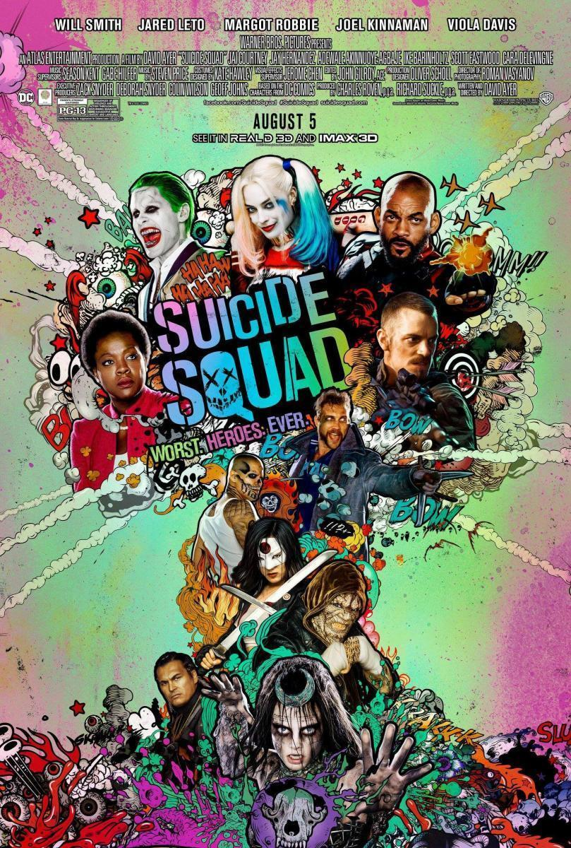 Download Suicide Squad (2016) Full Movie in Hindi Unofficial Dubbed BluRay 720p [1GB]