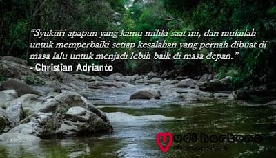 Kata Bijak Christian Adrianto