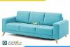 AmiA 20215, mẫu ghế sofa văng nỉ màu xanh lơ đẹp miễn chê