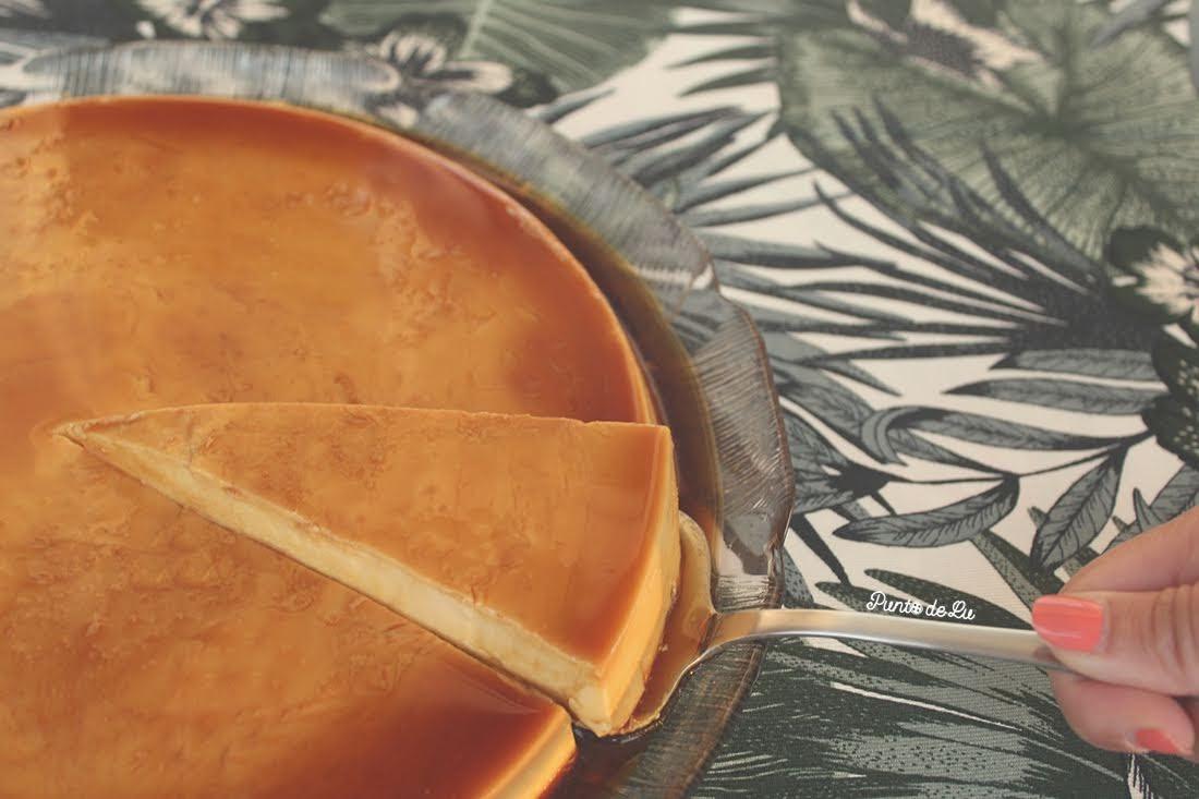Receta para hacer flan de crema de orujo