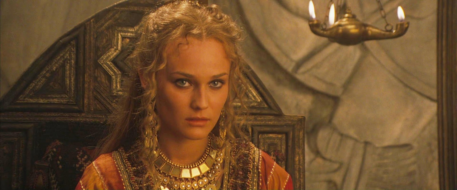 Movie and TV Cast Screencaps: Diane Kruger as Helen / Troy ...