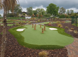 Jungle Safari Adventure Golf at Ravenmeadow Golf Centre in Worcester